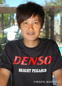 Denso team captain Ayaka Takebayashi said there is much to be learned from the American approach to softball.