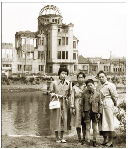 Children in postwar Japan were encouraged to make the peace pilgrimage to Hiroshima. The first time I visited was when I was 8 or 9 years old, before I was to move to the U.S.