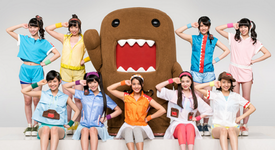 """TPDomo, a new unit consisting of NHK mascot Domo and idol group Tokyo Performance Doll, will kick off J-Pop Summit at Fort Mason Center as the opening cardio workout at 11 a.m. on Saturday and Sunday with their new exercise, """"Domobics."""""""