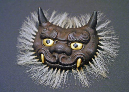 Maedate (frontal crest for helmet) by Myochin Munesuke.