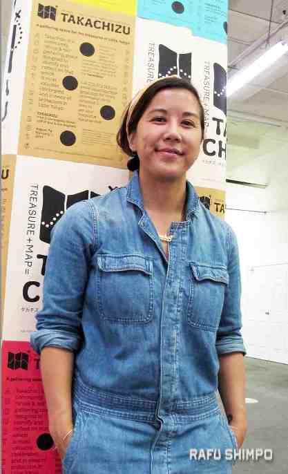Maya Santos, Takachizu director. (MARIO G. REYES/Rafu Shimpo)