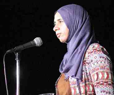 Zara Biloo of the Council on American-Islamic Relations (CAIR).
