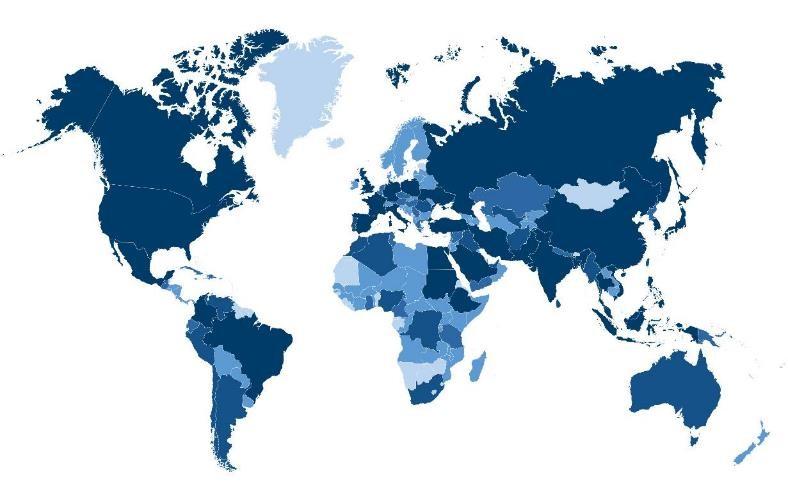 Global Diabetes Epidemic Graph Region