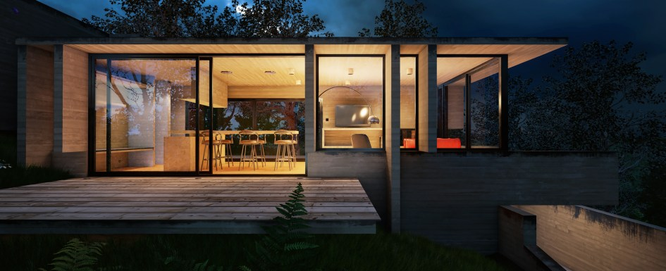 unreal engine exterior night and day architectural On unreal 4 architecture