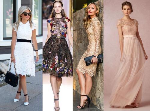 40 Model Dress Brokat Modern dan Elegan  Ragam Fashion