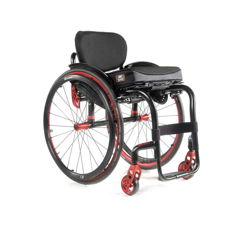 Wachten op mijn rolstoel voor het echie