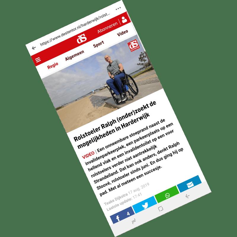 2019-08-17 Rollen met hindernissen, door Teake Dijkstra – De Stentor