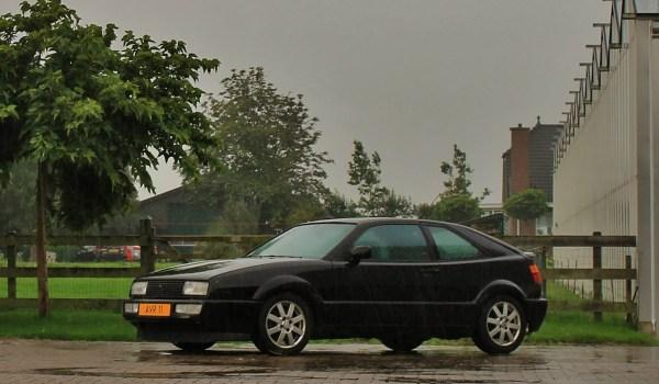 VW Corrado G60 in de regen van Ralph Stoove