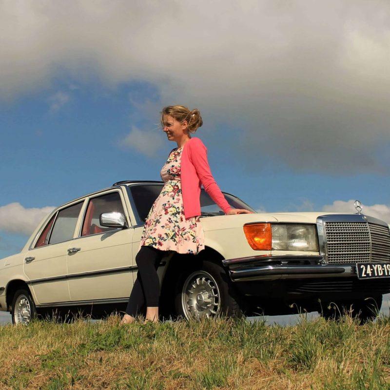 Mijn vroegere Mercedes-Benz W116 280SE uit 1974