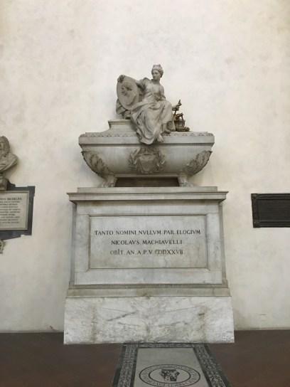Monument to Macchiavelli