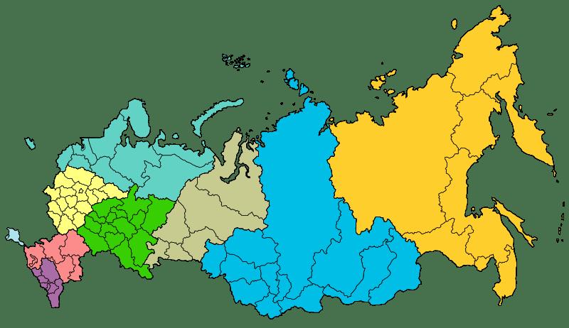 Cartina Russia Regioni.Regioni Russe Guida Per Turisti Alle Regioni Della Russia Ragazze Russe