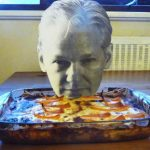 Julian Assange Lasagne