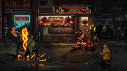 Street of Rage 4 : des images pour fêter la nouvelle année
