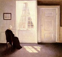 A Woman Reading in Sunlight 1900