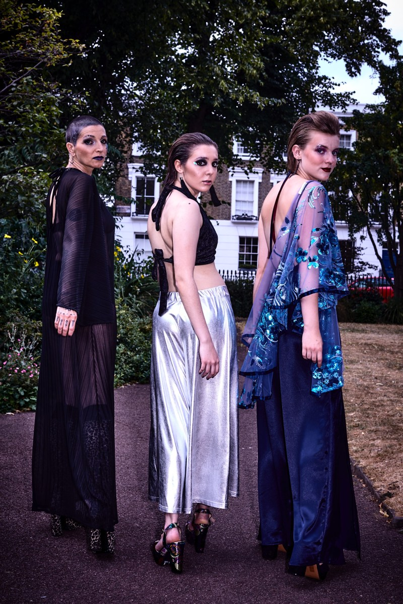 'Too Glam For Rock'  Ragged CULT Magazine x Kennedy Design Fashion Shoot