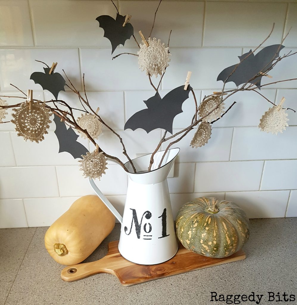 A Fun 10 Minute Halloween Bat Twig Tree To Add To Your Decorating This  Halloween |
