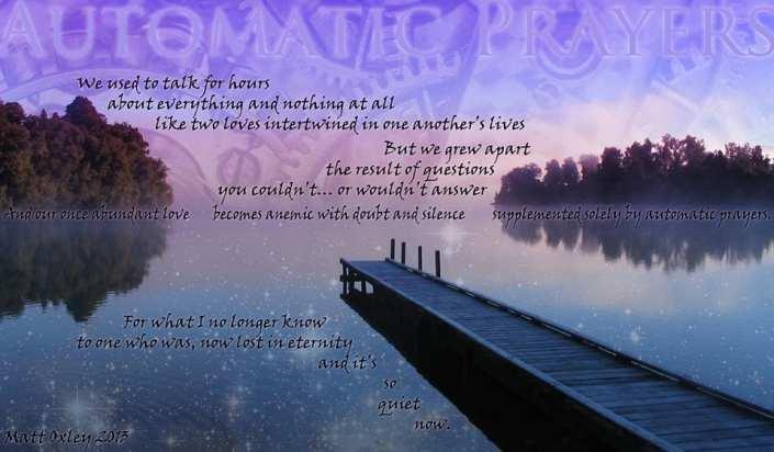 Automatic Prayers - Poem