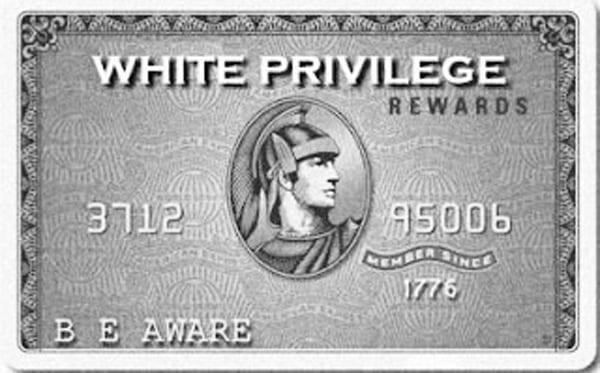 Recognizing my White Privilege