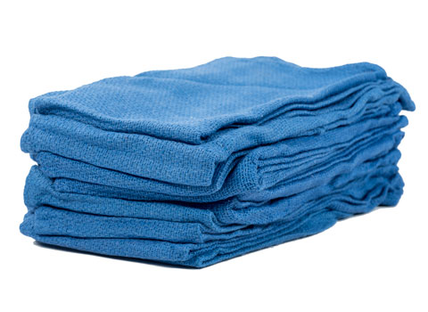 Buy Wholesale New Blue Huck Towels  Free Shipping