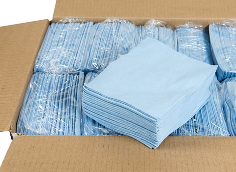 commercial restaurant kitchen mats square table lint free wipes - 12