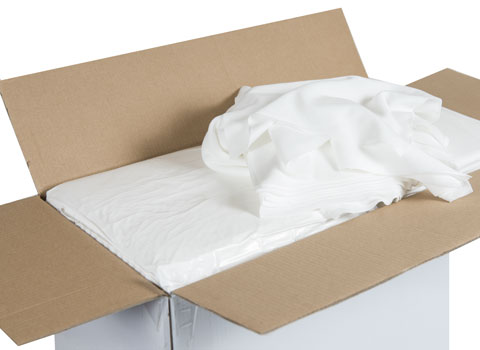 Lint Free Cleanroom Wipes  9 x 9  Polyester Knit