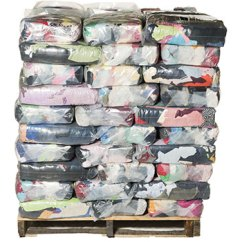 Kitchen Towels Bulk Space Saving Table T-shirt Rags - Multi-color 1,000lbs Buy By ...
