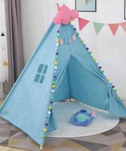 Kids Large Teepee Tent Playhouse