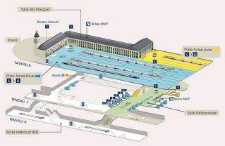 Plan Gare de Lyon