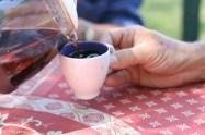 Le petit café avant la promenade digestive