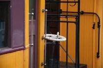 Détail d'un train du Taieri Gorge Railway