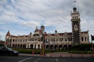 La gare de Dunedin