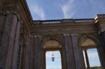 Péristyle du Grand Trianon, détails