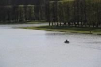 Vue sur le Grand Canal depuis le jardin du Grand Trianon