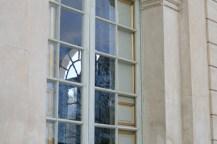 À travers les vitres du Pavillon frais