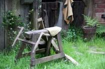 Un atelier qui attend son artisan