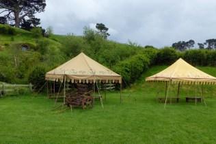 Les tentes de Bilbon