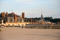 Vue sur Versailles depuis le Parterre du Midi