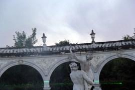 Enlèvement de Proserpine par Pluton de Girardon, Bosquet de la Colonnade