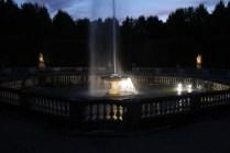 Bosquet des Dômes à la nuit tombée