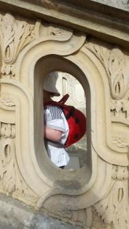 Détail de la balustrade du Petit Trianon, Versailles