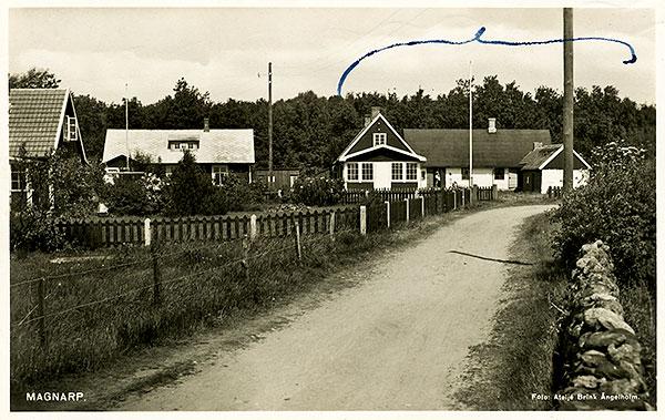 Björkhagen - Bengt Svens 6:30 - Vykort från 50-talet