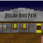 Dueling Gods Path Art