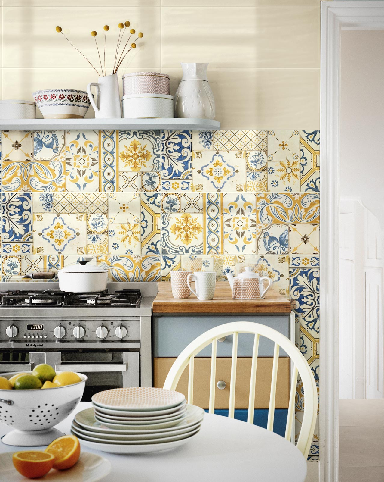 Piastrelle colorate per cucina piastrelle cucina glitter cucine