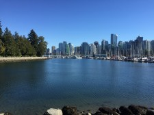 The view from Stanley Park
