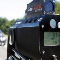 Controlli della velocità della Polizia Municipale con telelaser nel mese di novembre