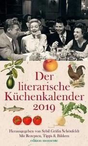 Der literarische Küchenkalender 2019