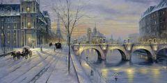 باريس في الشتاء السياحة في فرنسا في الشتاء فيديو