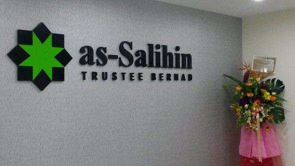 as-Salihin Trustee Berhad ada menyediakan kemudahan membuat wasiat