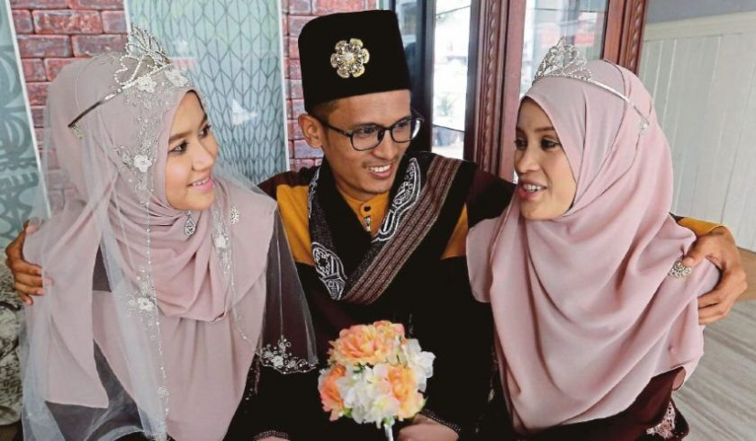 Biarkan suami berpoligami asalkan isteri tua jangan bertambah rugi.