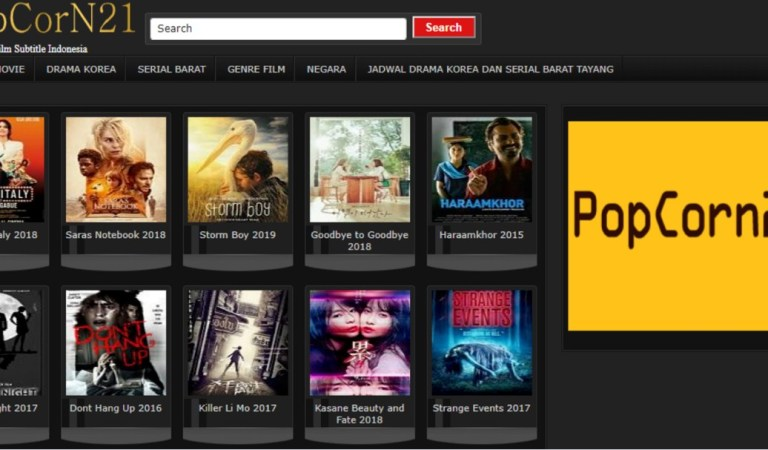 Link Alternatif Terbaru Popcorn21 UPDATE 2020